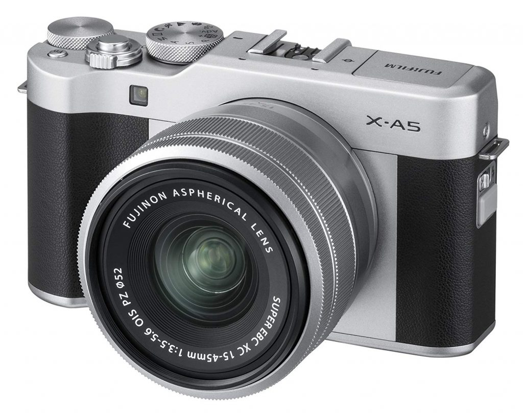 Fujifilm X-A5 Camera for Video Blogging